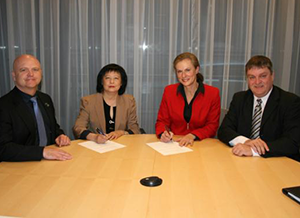 The CCO signed a collaboration agreement with RDÉE