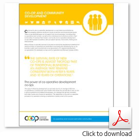 Download the Co-op Community Development Sector Profile