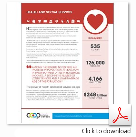 Download the Health Services Sector Profile