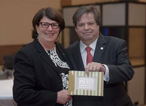 Mauril Bélanger and Denyse Guy