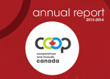 Co-operatives and Mutuals Canada Annual Report 2013-2014