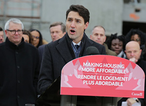 Trudeau announces the first ever National Housing Strategy