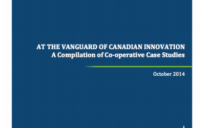 At the Vanguard of Canadian Innovation: Compilation of Co-op Case Studies