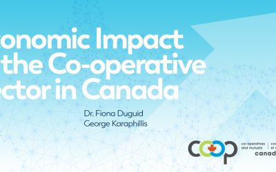 Release of the Study on the Economic Impact of the Co-operative Sector in Canada