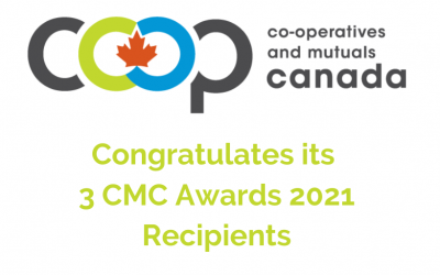 CMC Recognizes Award Winners at their Virtual AGM on June 17, 2021